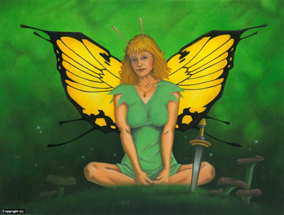 Tinkerbell Artwork by Stacy Drum