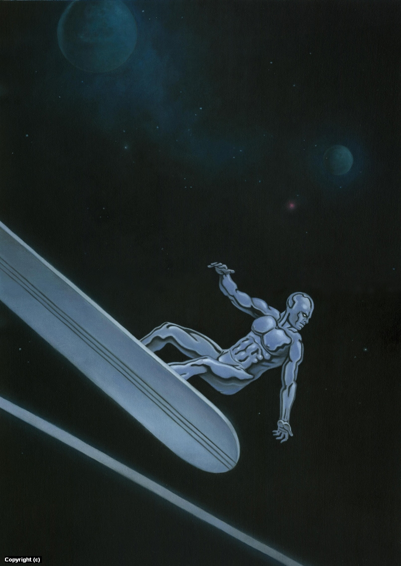 Marvel's The Silver Surfer Artwork by Stacy Drum