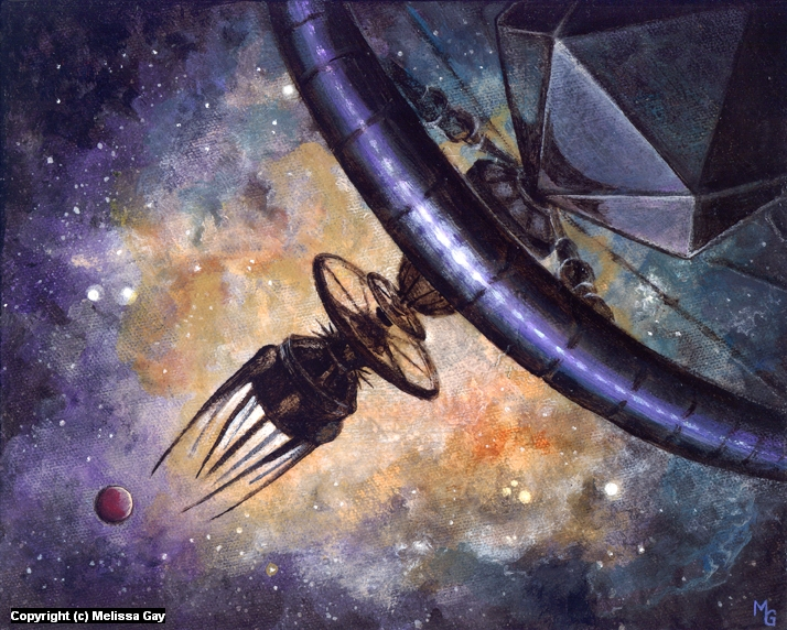 Astrophage Artwork by Melissa Gay