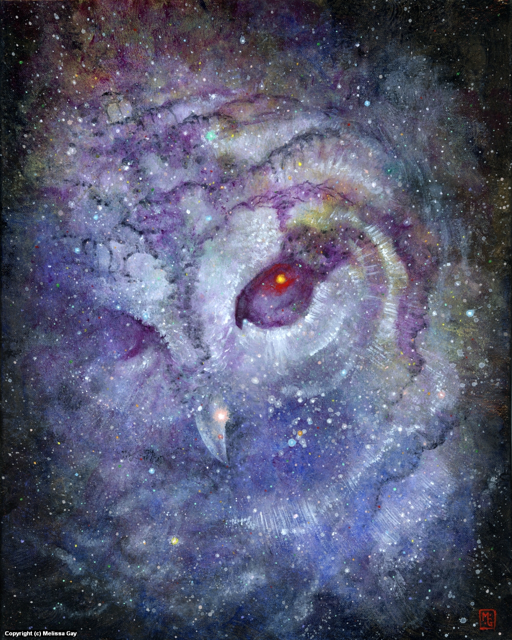 The Strix Nebula Artwork by Melissa Gay