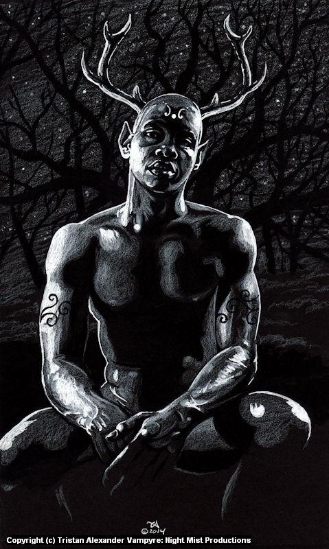 Spirit of the Night Woods Artwork by Tristan Alexander