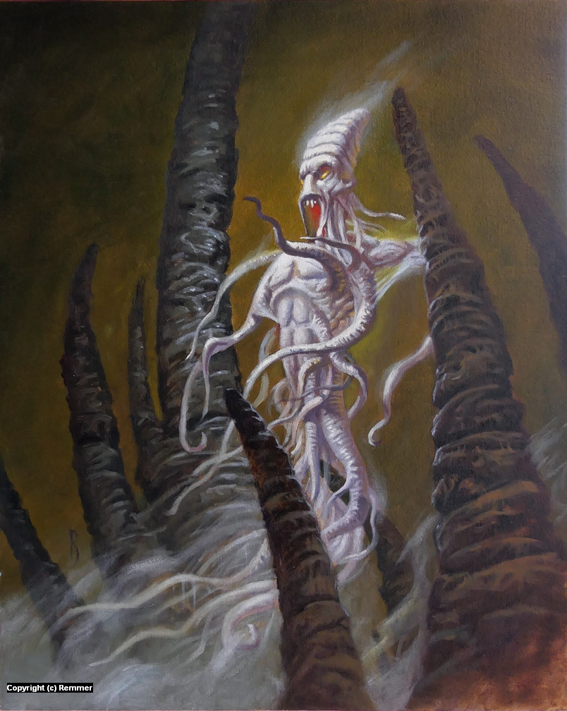 Pallid Thing Artwork by Jeff Remmer