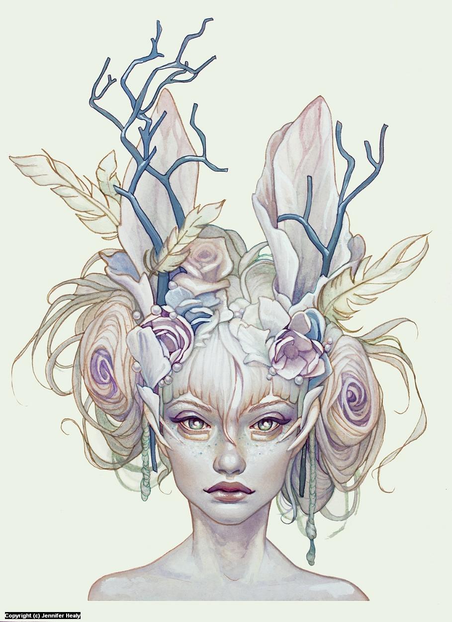 Opal Artwork by Jennifer Healy