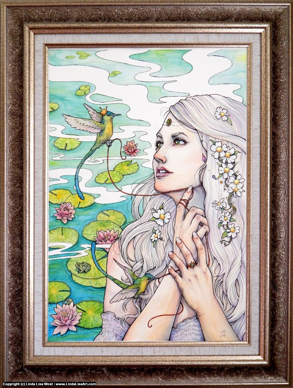 Coventina's Destiny Artwork by Linda  Lisa