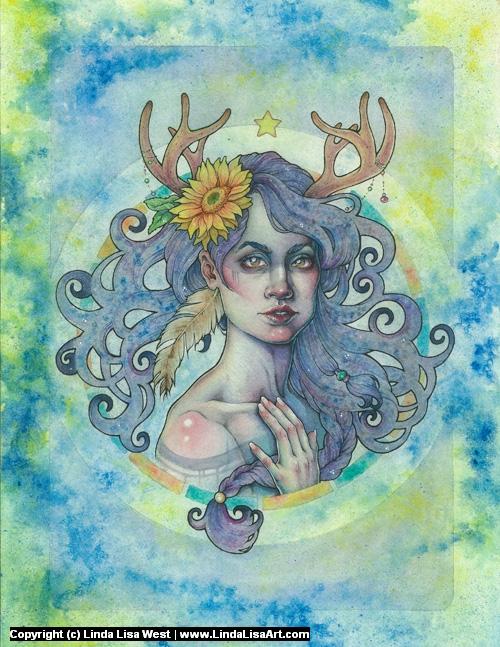 Rejoice Artwork by Linda  Lisa
