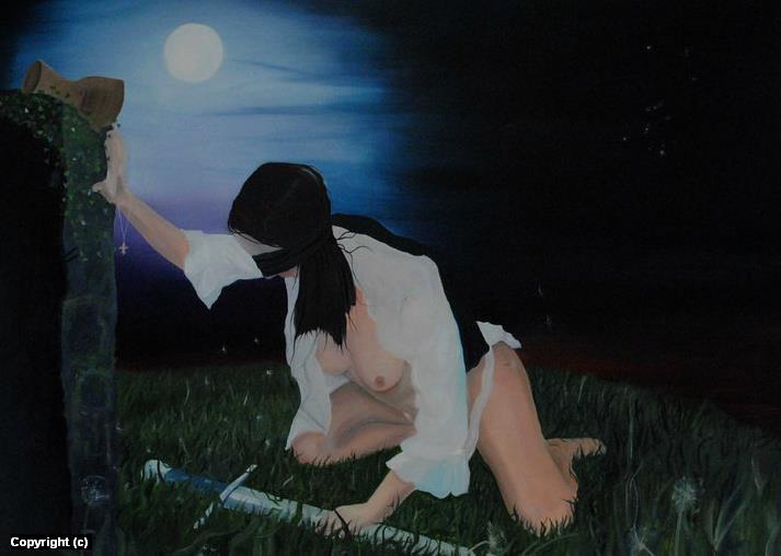 Act of Faith... Artwork by JOHN OGDEN