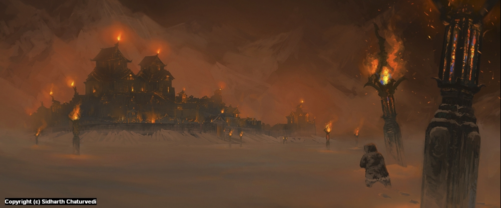 Fire Keep Artwork by Sidharth Chaturvedi