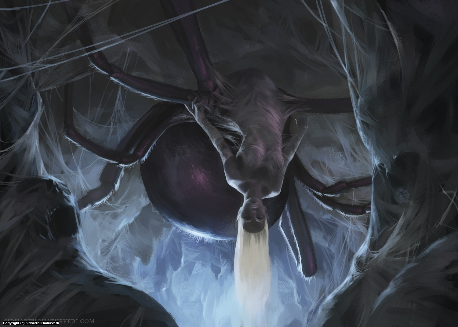 Lolth Artwork by Sidharth Chaturvedi