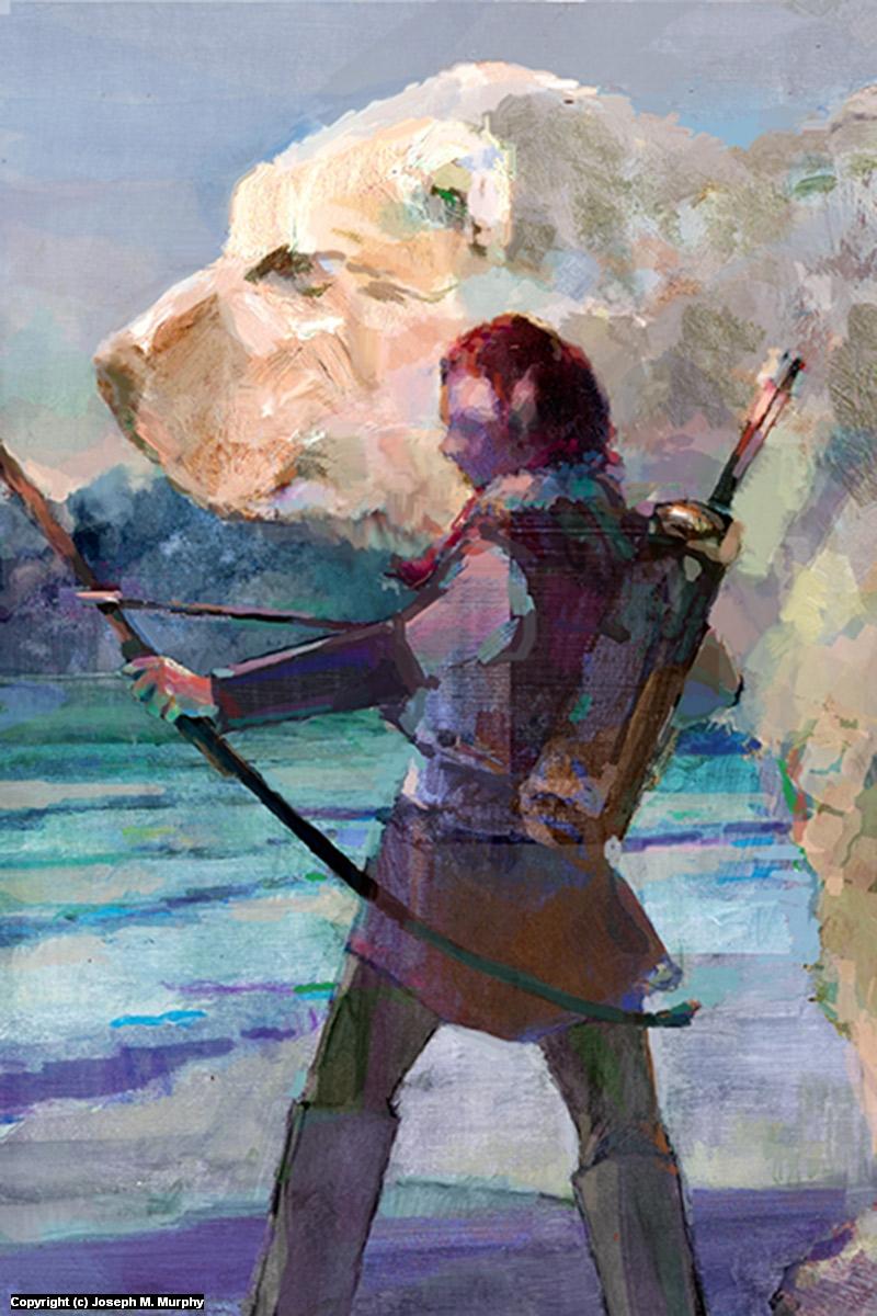 Archer Artwork by Joseph Murphy