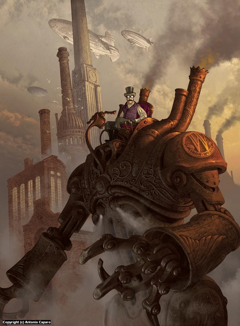 Steampunk Artwork by Antonio Caparo