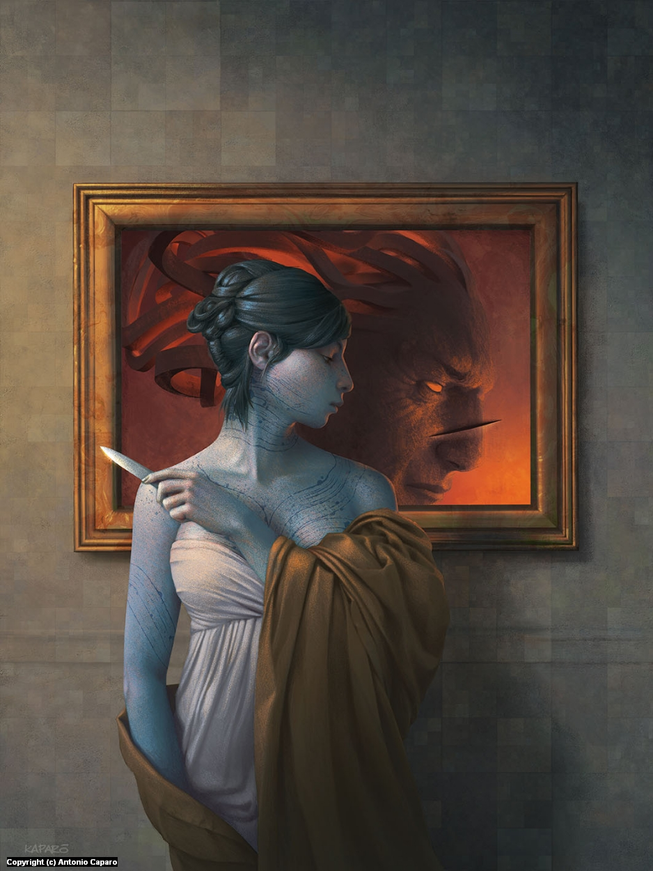 The Portrait of Father Mars Artwork by Antonio Caparo