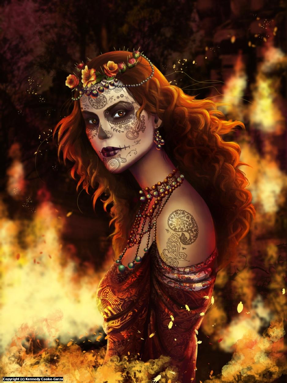 Chantico Artwork by Kennedy Cooke-Garza