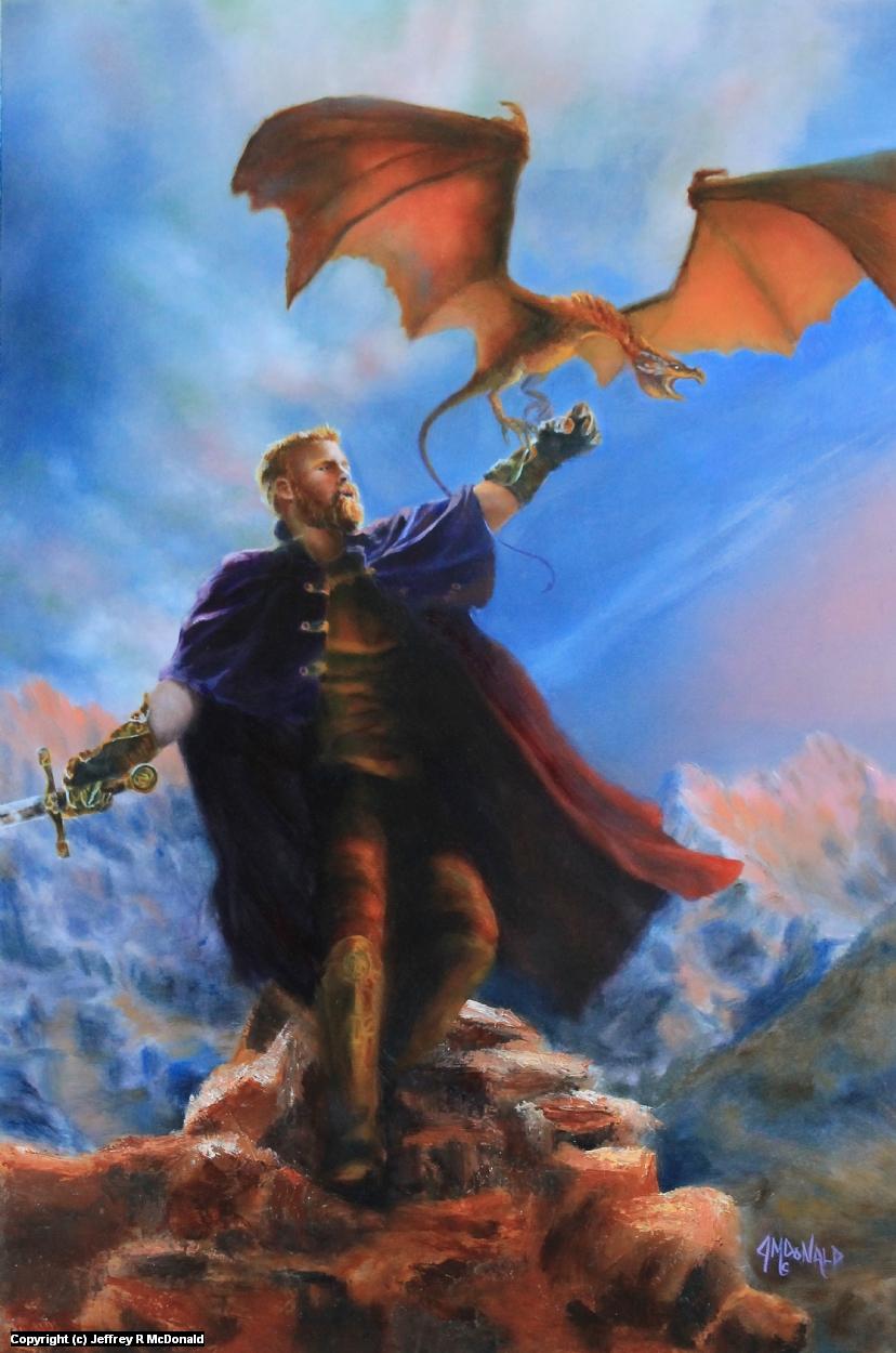 The Dragoner Artwork by Jeffrey McDonald