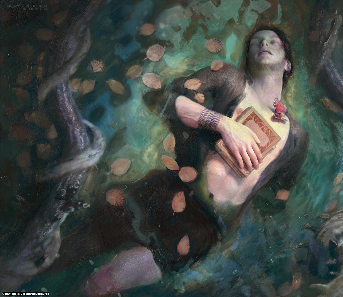 Requiem (Warm Version) Artwork by Jeremy Deveraturda