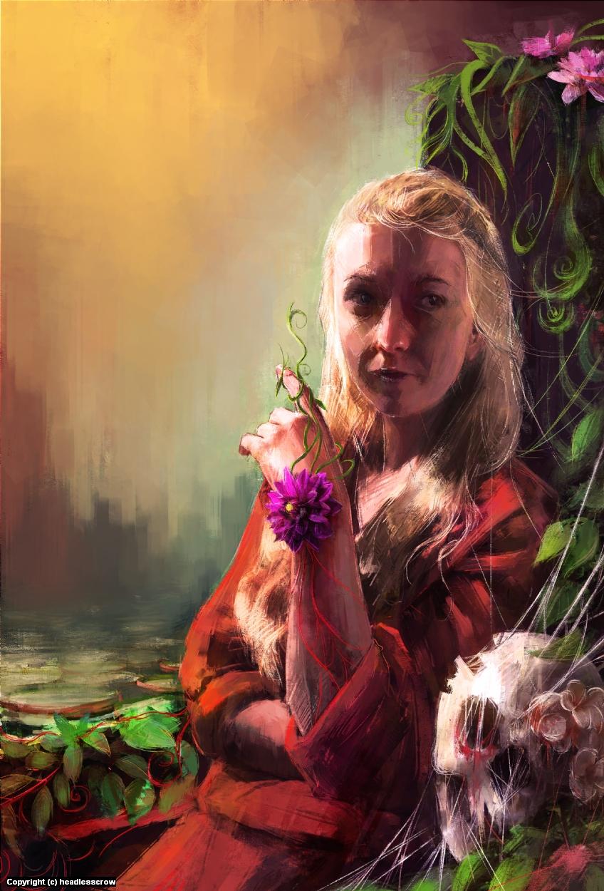 Princess of Vines Artwork by Calvin Lye