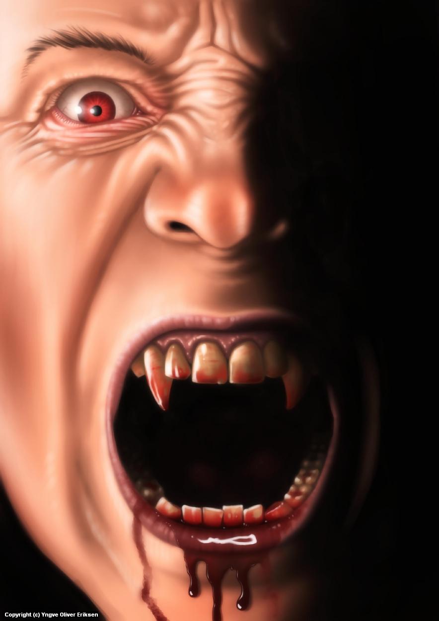 Vampire Artwork by Yngve Oliver Eriksen