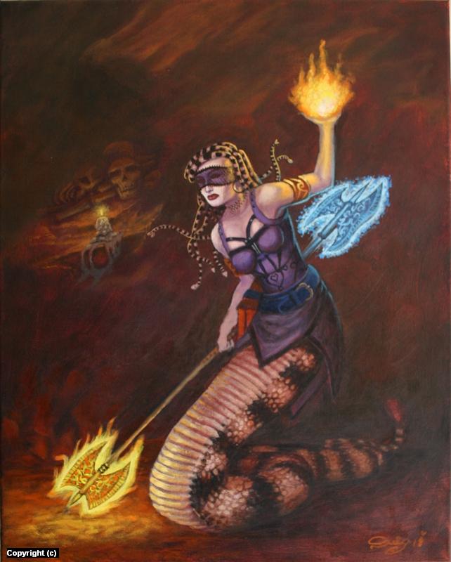 Medusa Commission  Artwork by Juan Ruiz