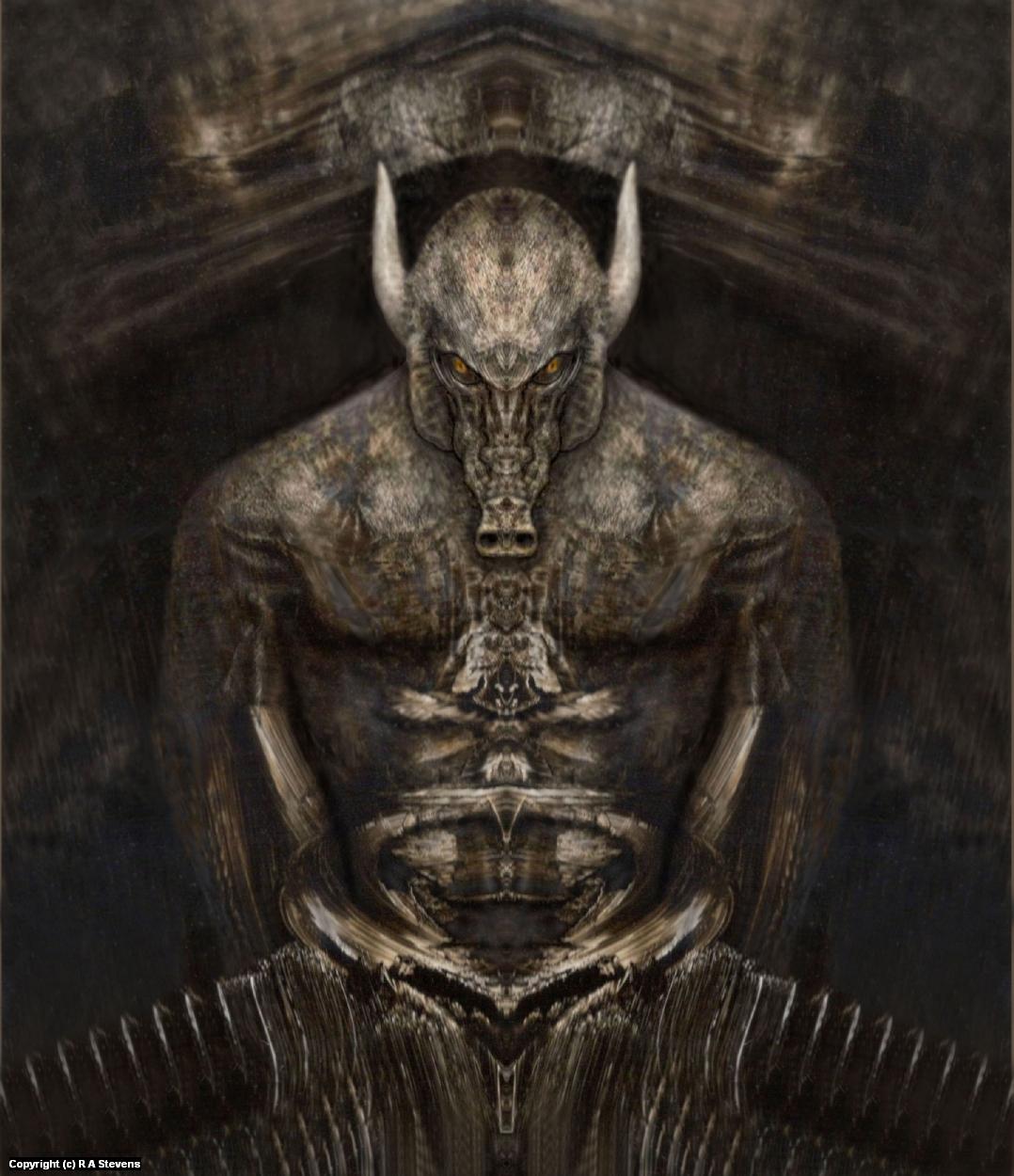 Succubus Revealed Artwork by R Alexander  Stevens
