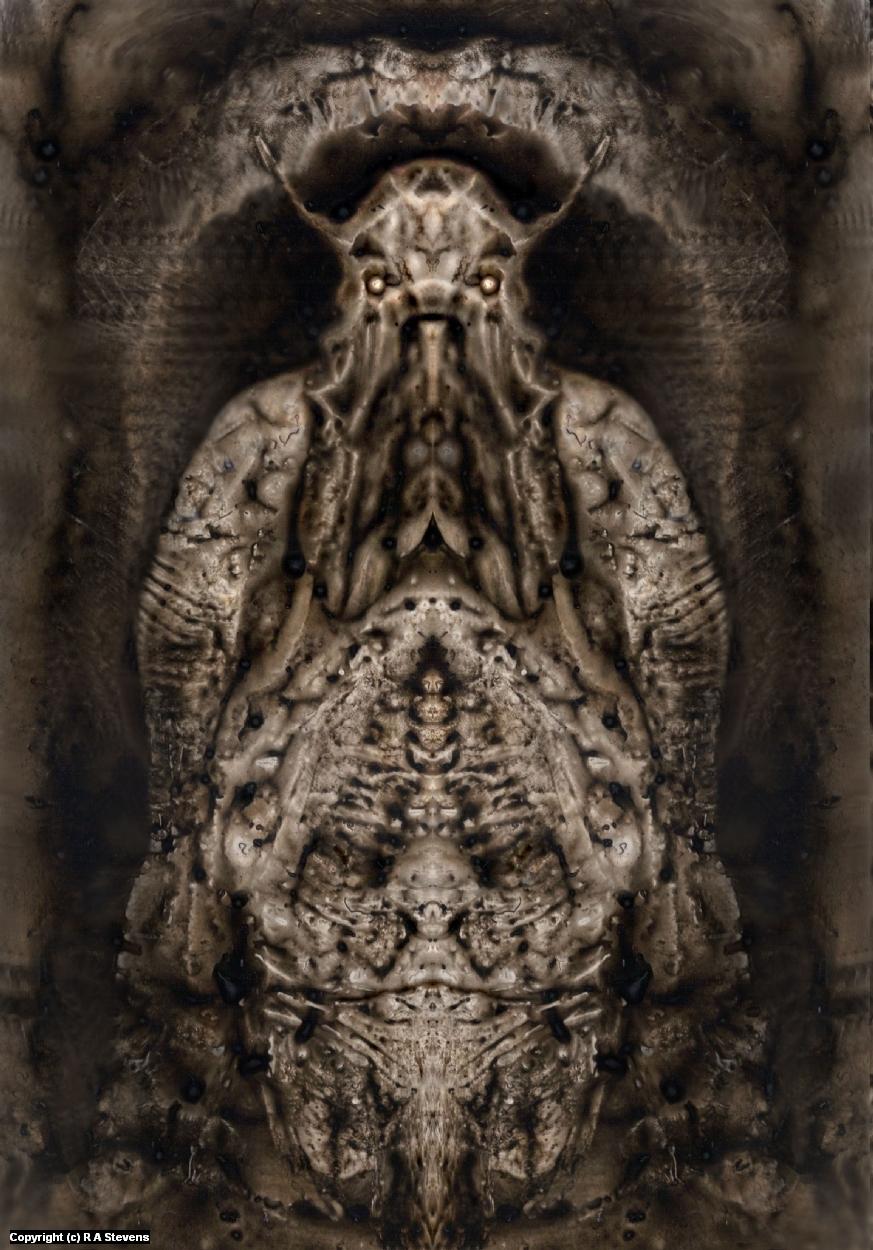 Bio- Mechanoid Mummies Of Mars 2 Artwork by R Alexander  Stevens