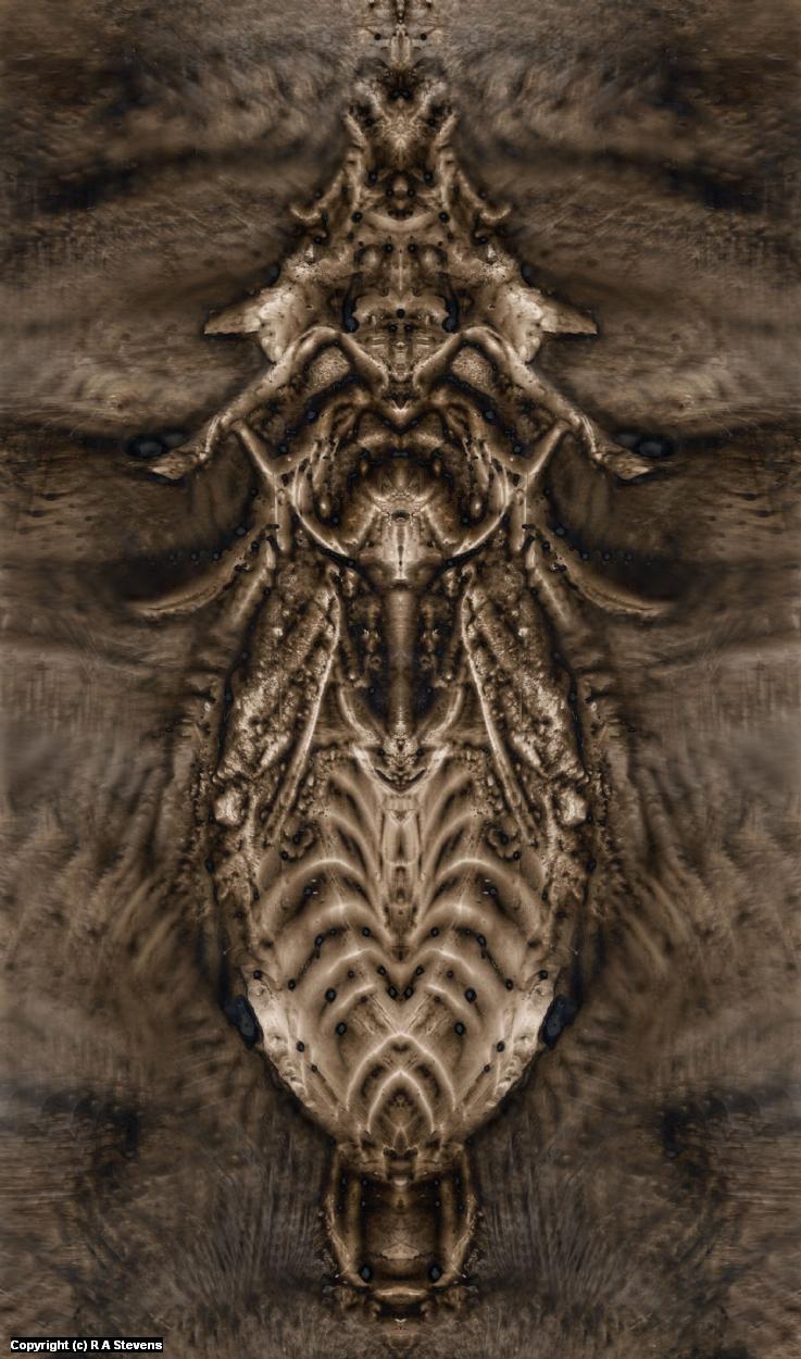 Terraforming Insectoids of Mars. Artwork by R Alexander  Stevens