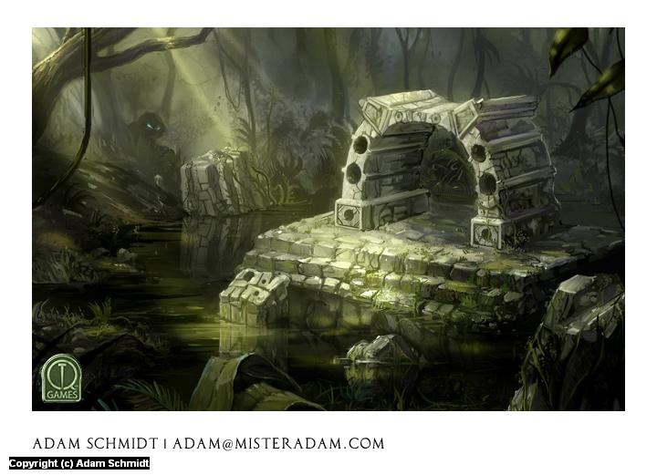 Forest Gate Artwork by Adam Schmidt