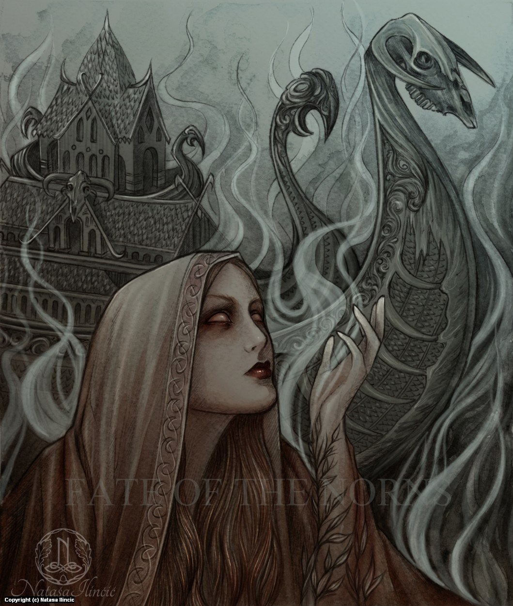 Volva's Vision Artwork by Natasa Ilincic