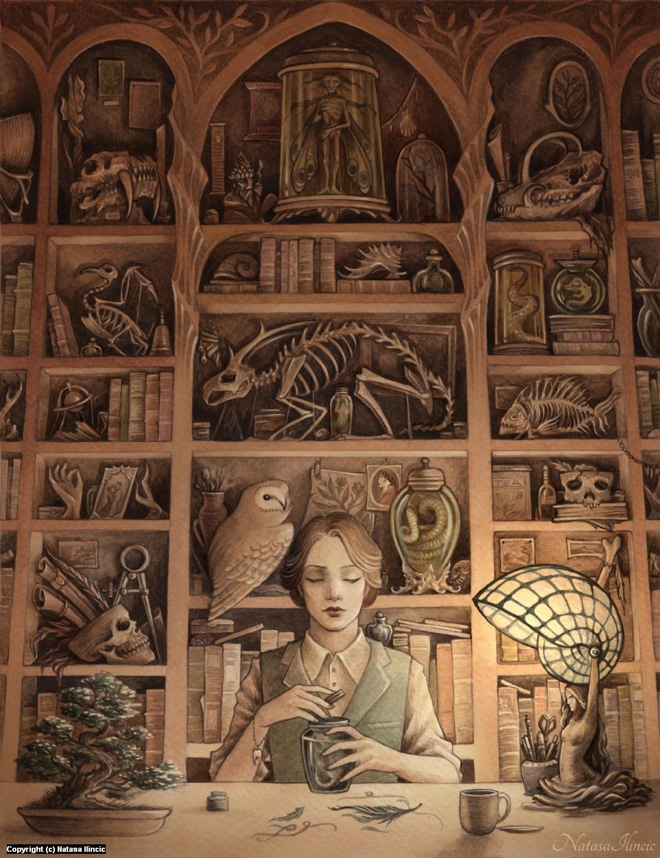 Magpie Artwork by Natasa Ilincic