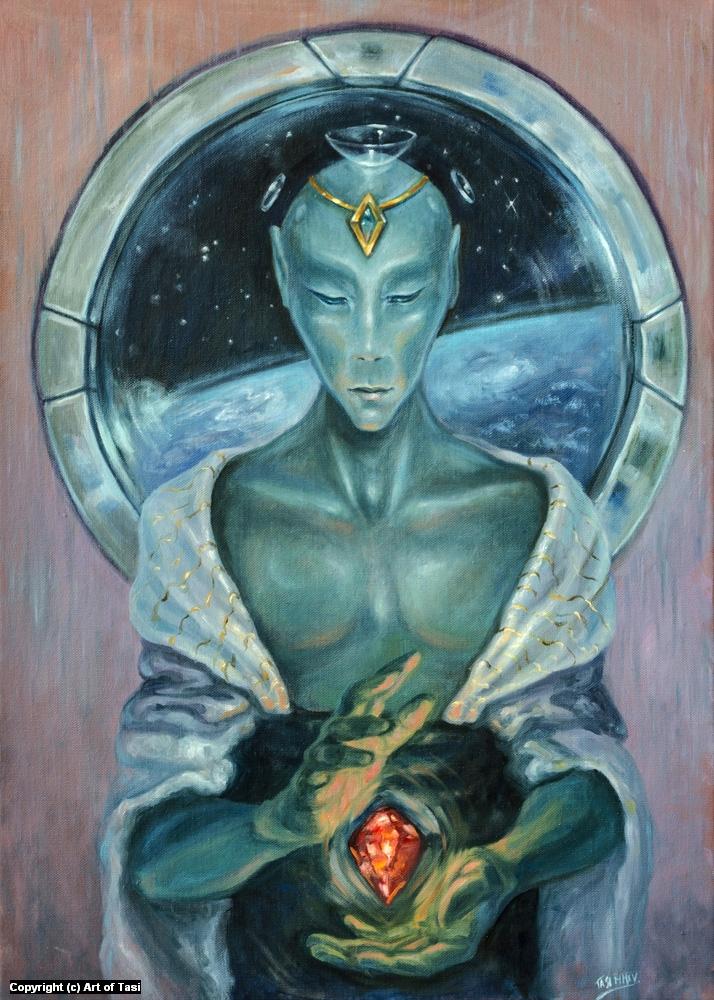 Guardian Artwork by Zsuzsanna Tasi