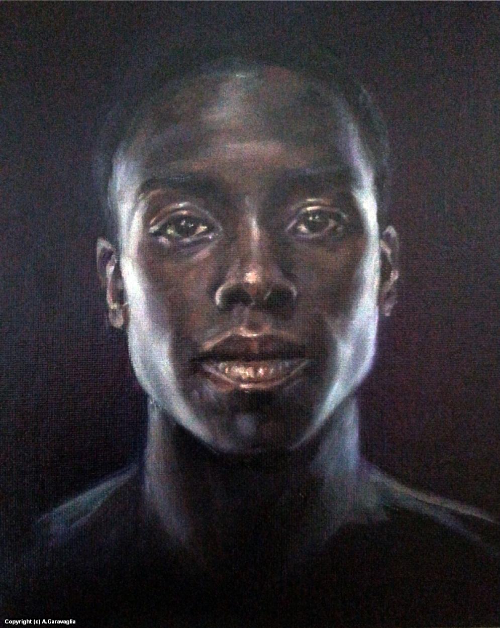 Desmond Cole Artwork by Anne Garavaglia
