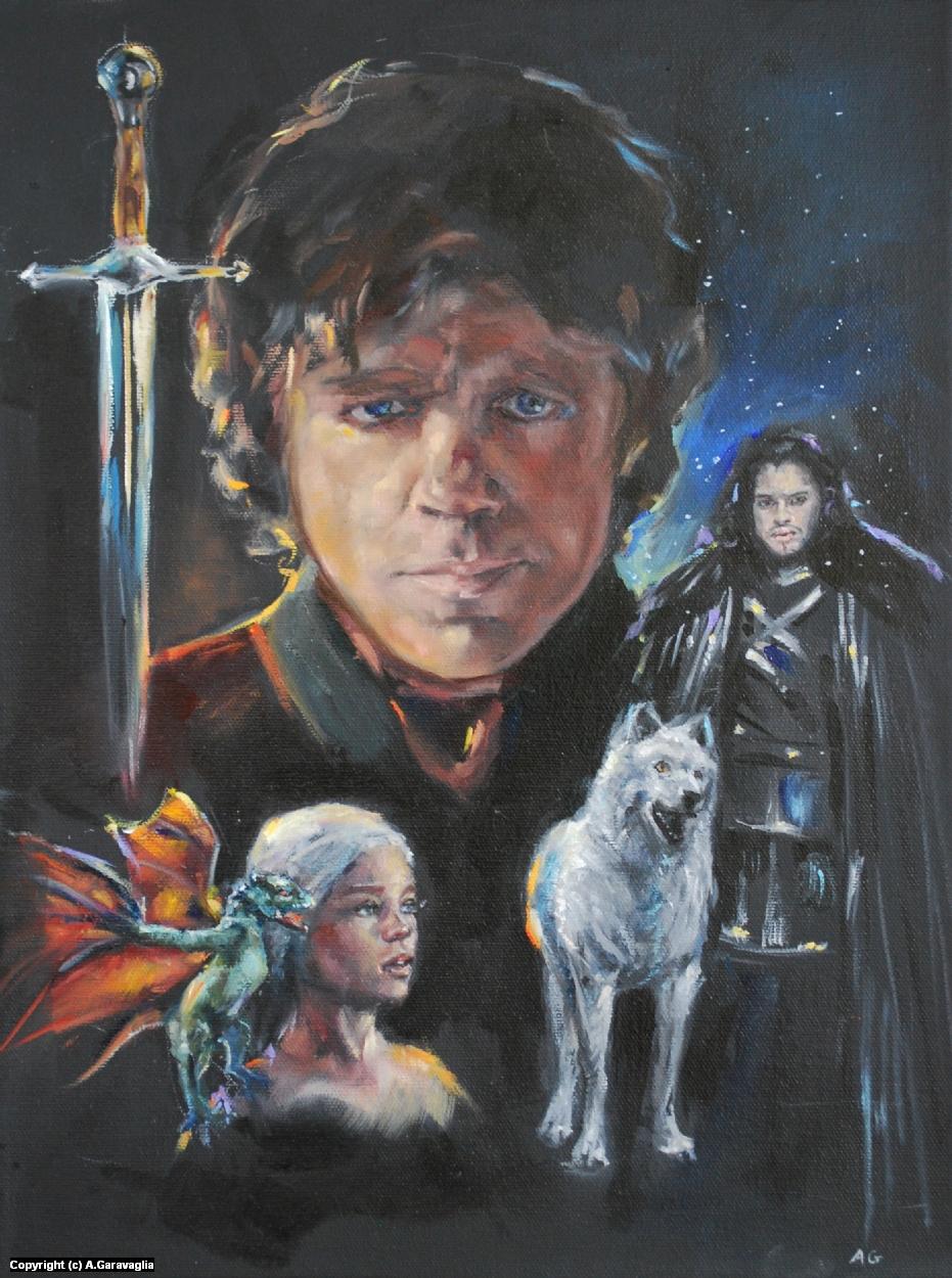Game of Thrones Artwork by Anne Garavaglia