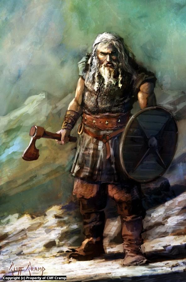 Viking Artwork by Cliff Cramp