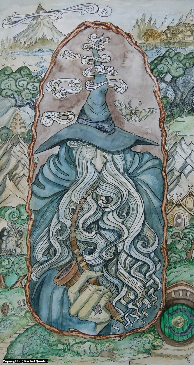 Stormcrow Artwork by Rachel Quinlan