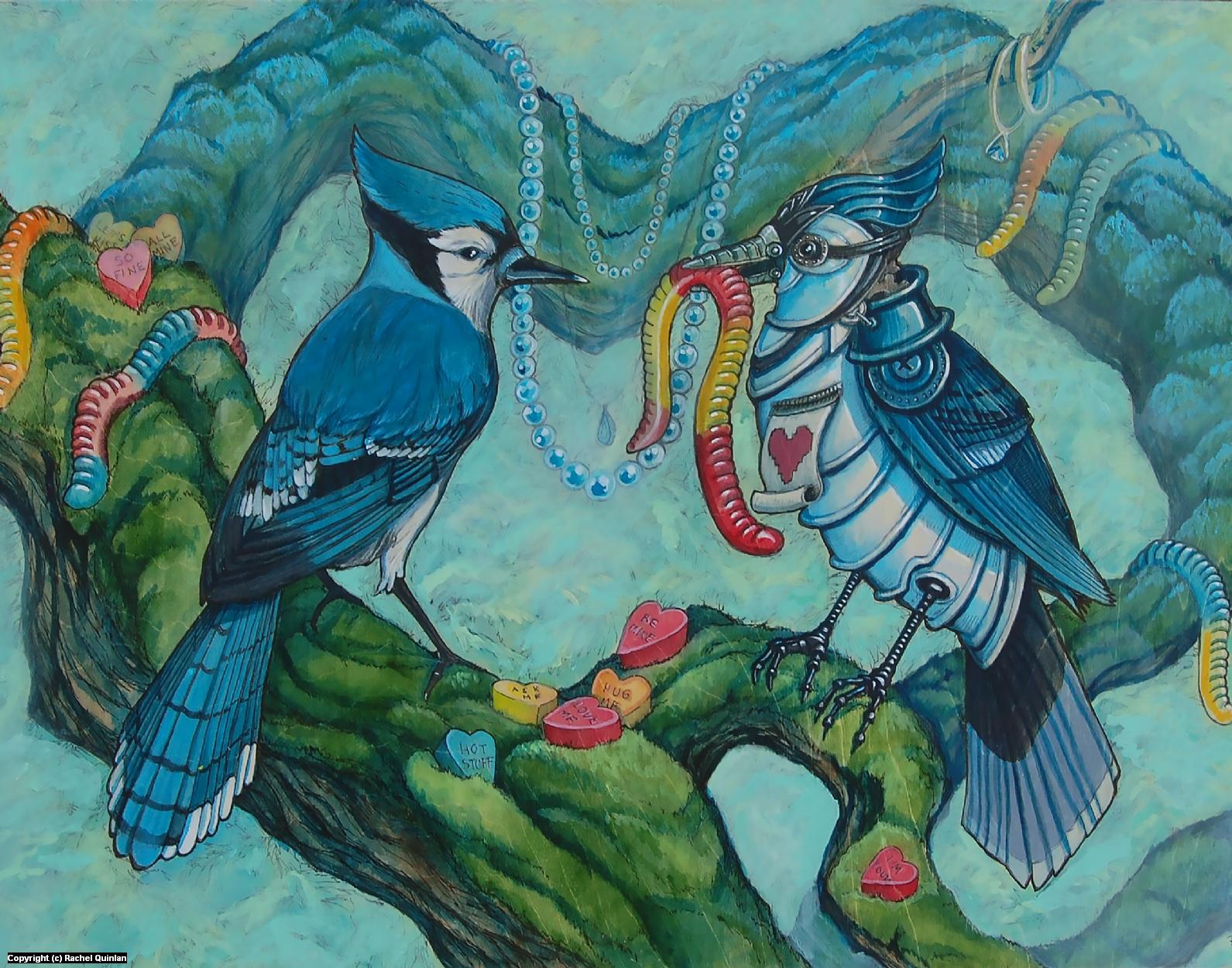 The Offering Artwork by Rachel Quinlan
