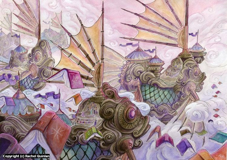 School of Thought Artwork by Rachel Quinlan