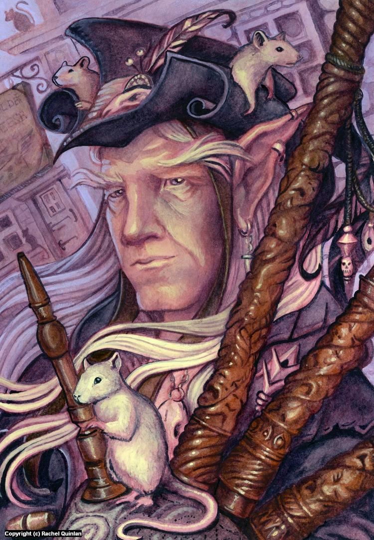 Pied Piper of Greyhawk Artwork by Rachel Quinlan