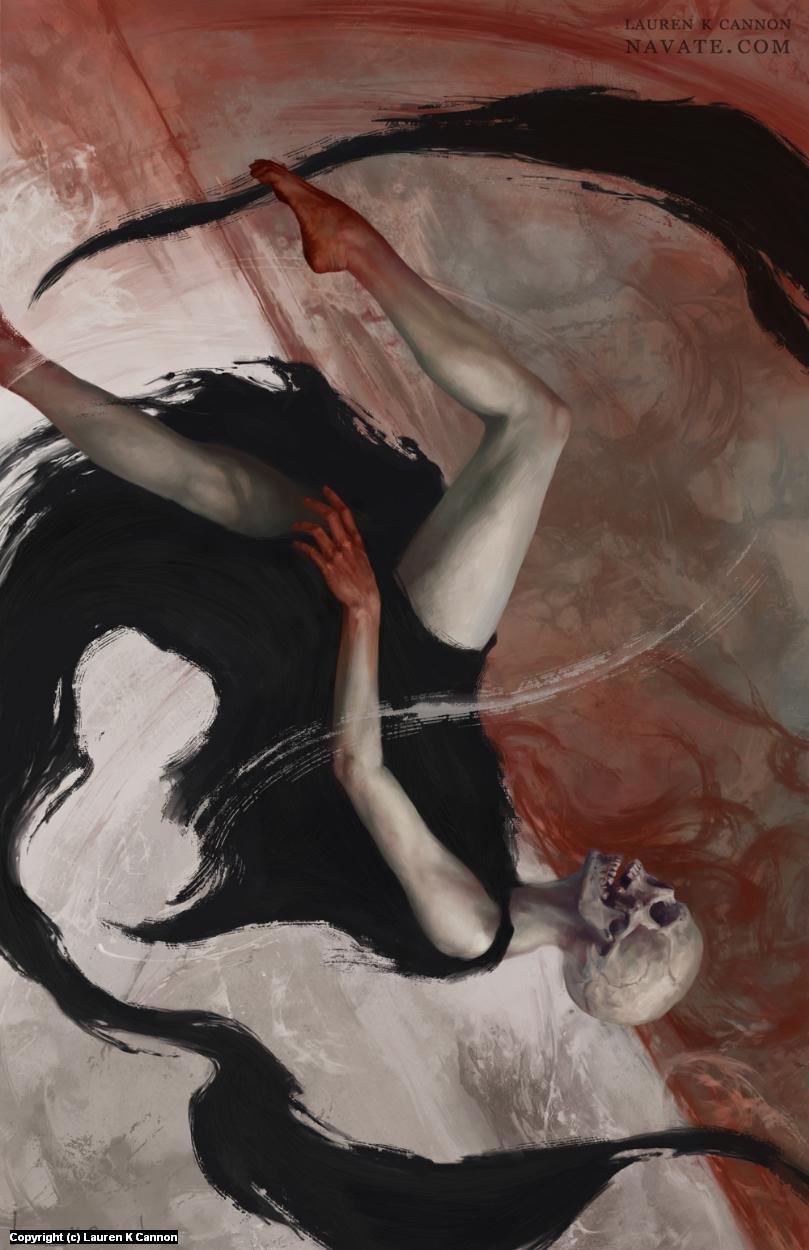 Uzumaki Artwork by Lauren Cannon