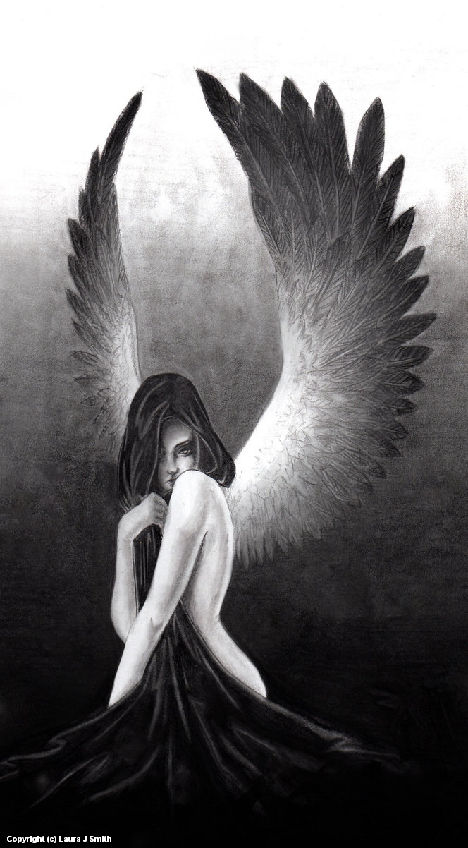 The devil is an angel too Artwork by Laura Smith