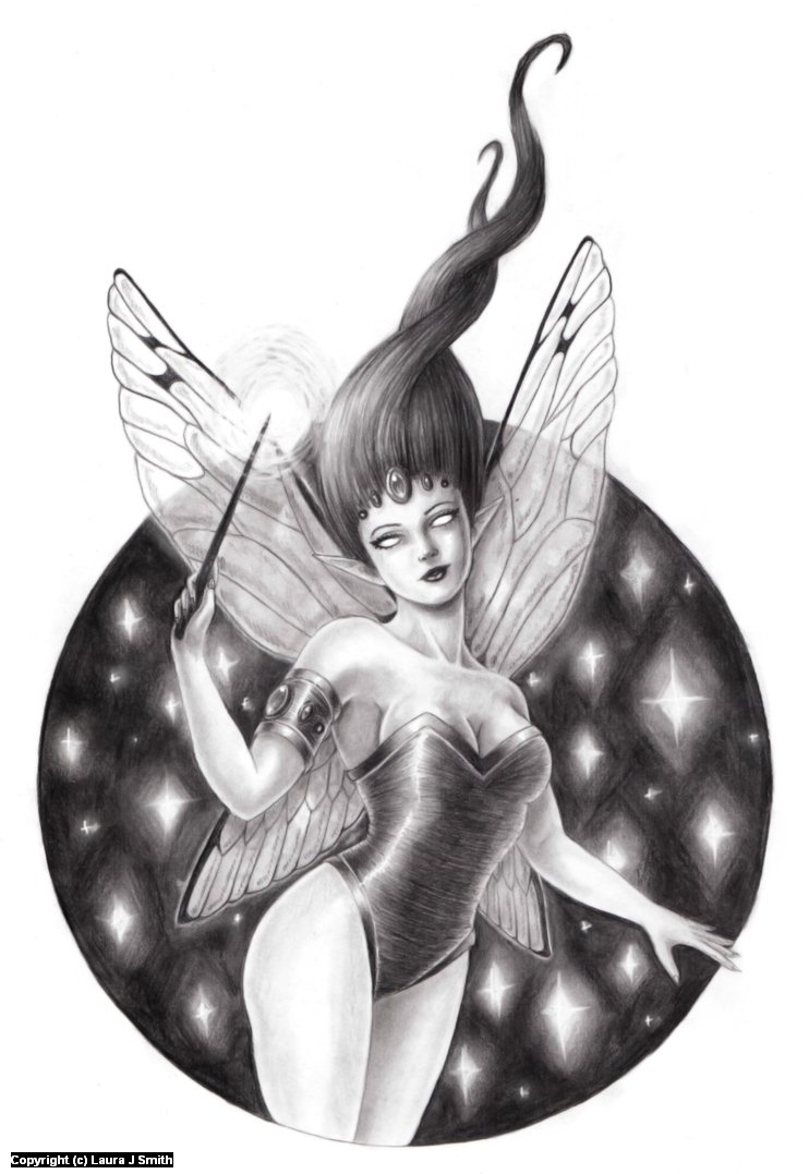 Pixie Artwork by Laura Smith