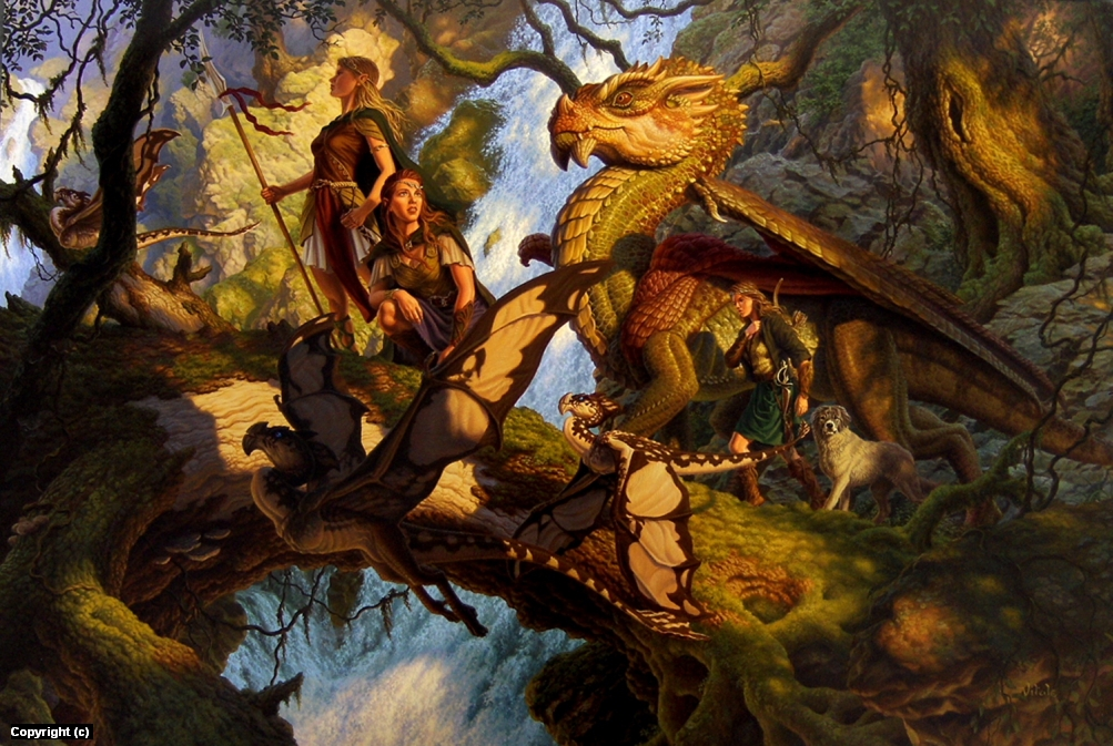 Scouts Artwork by raoul vitale