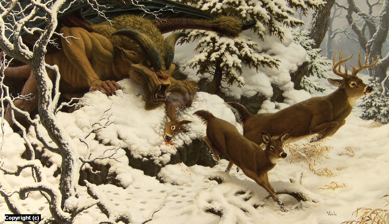 Mountain Gargoyle Artwork by raoul vitale