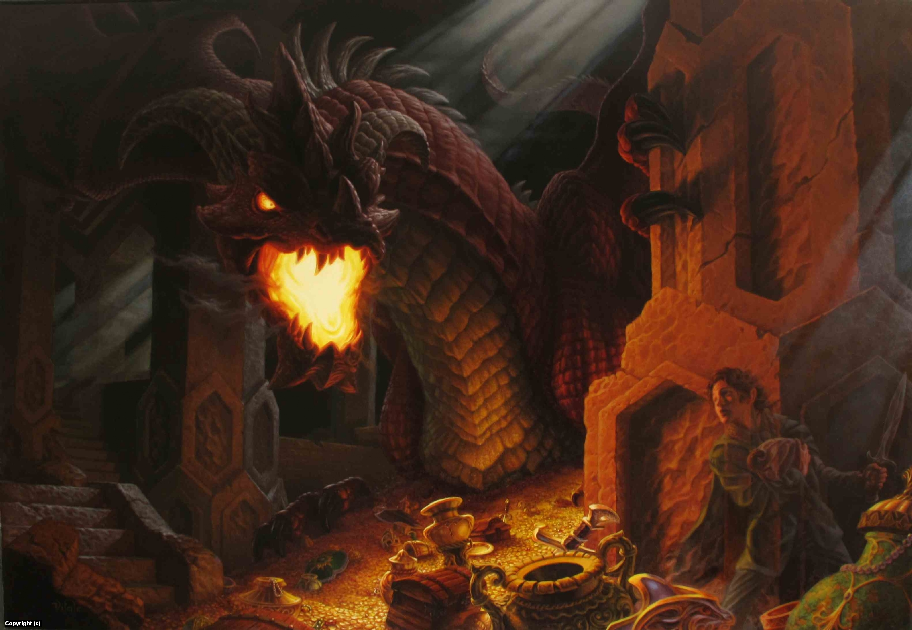 Thief Artwork by raoul vitale