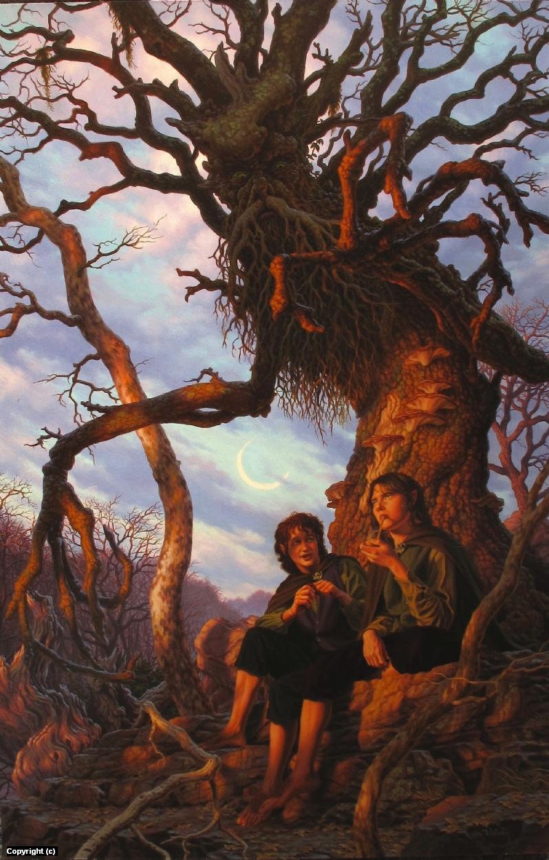 Treebeard Artwork by raoul vitale