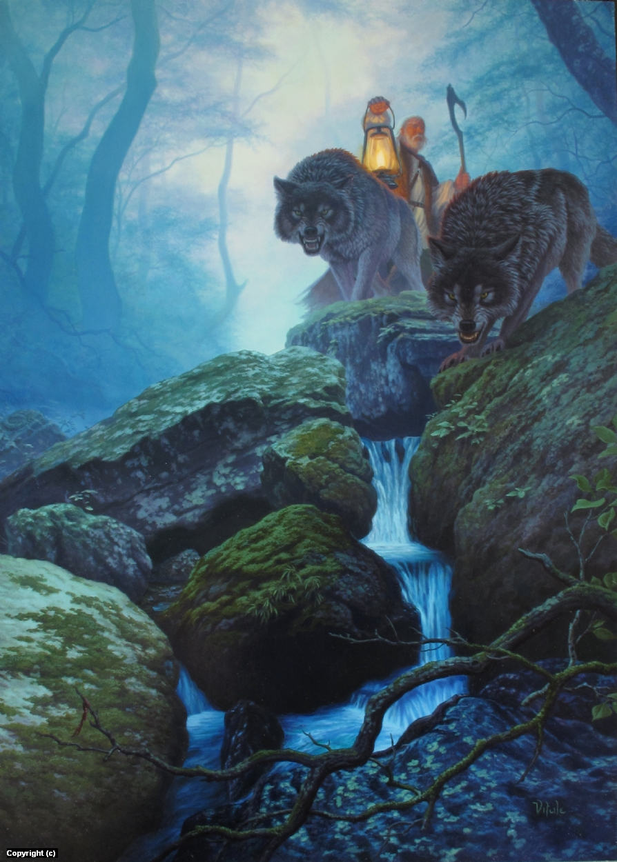 Twilight trackers Artwork by raoul vitale