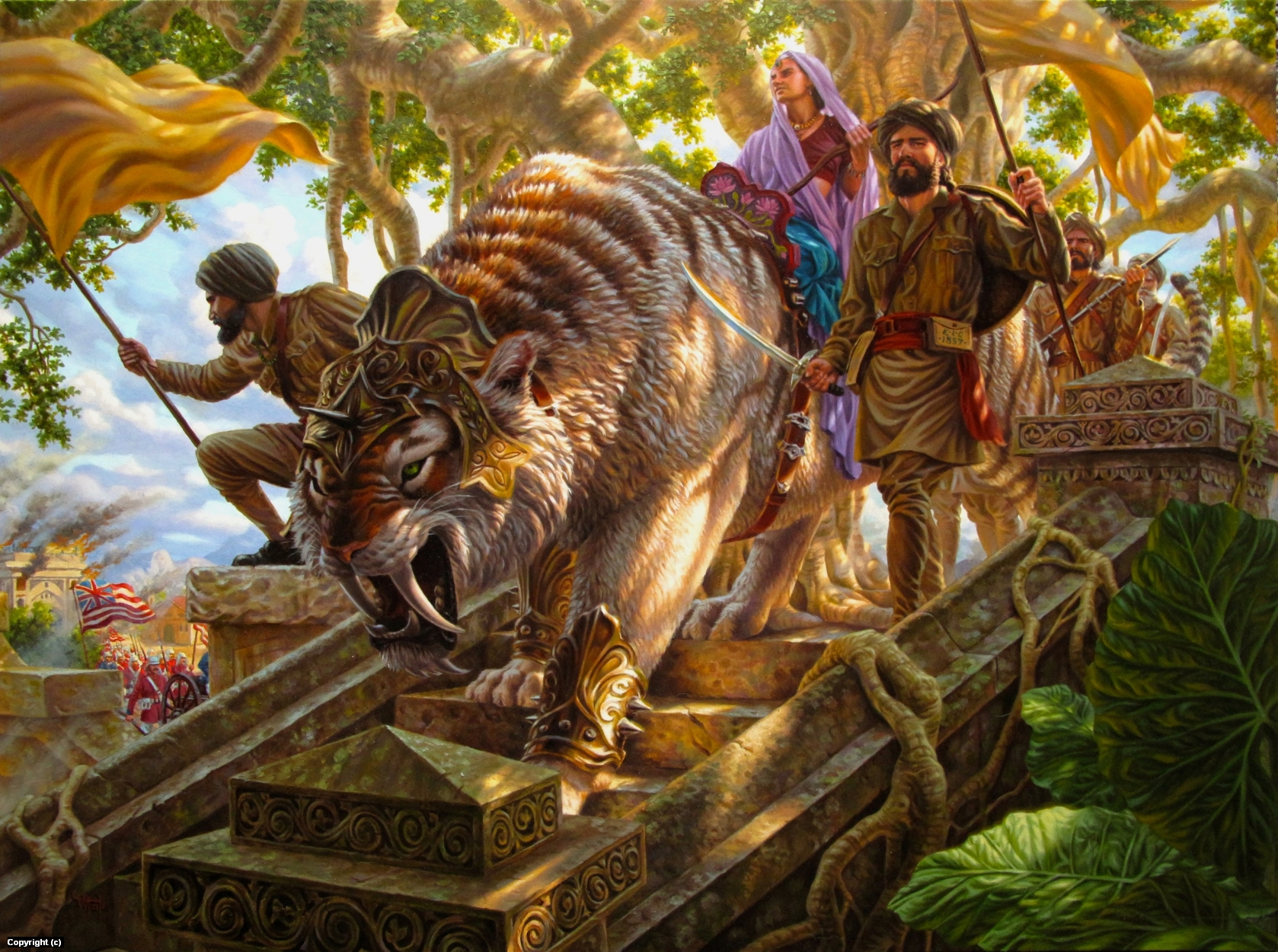 Sepoy Rebellion Artwork by raoul vitale