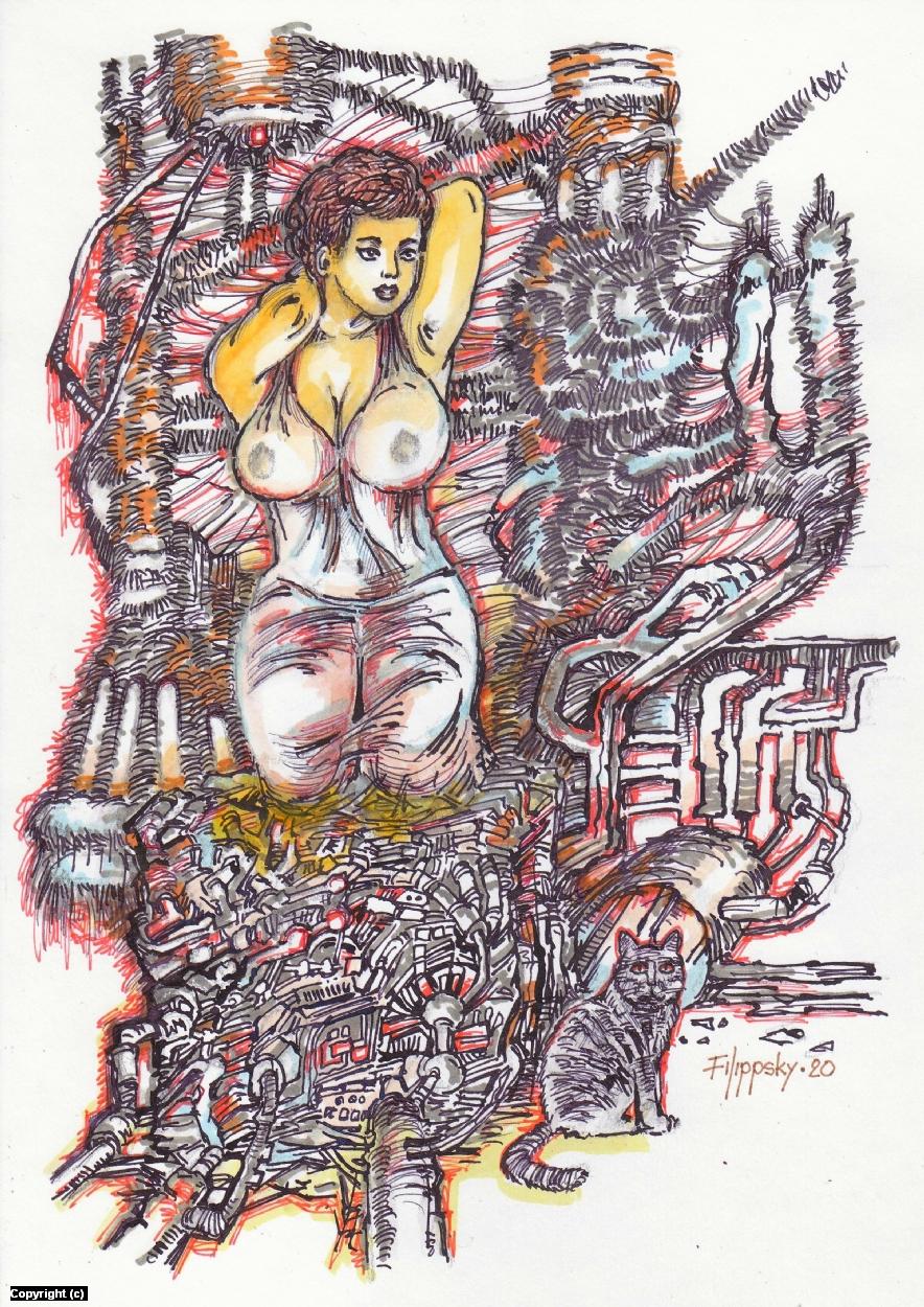 Fantasy 1. Artwork by Victor Filippsky