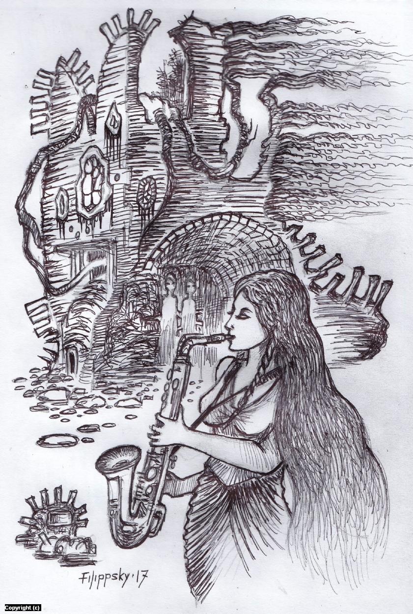 Набросок 4. Artwork by Victor Filippsky