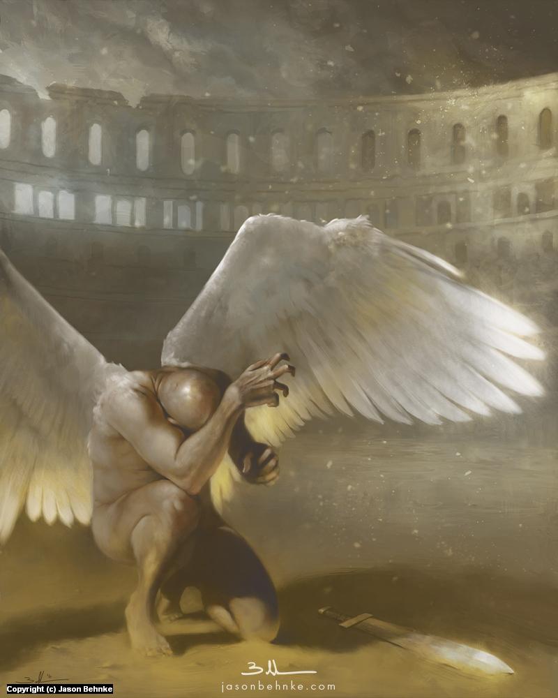 Gladiator Artwork by Jason Behnke