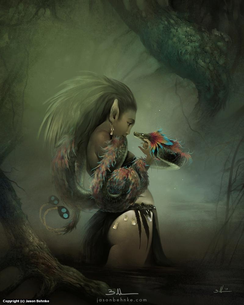 Kuekumkan Artwork by Jason Behnke