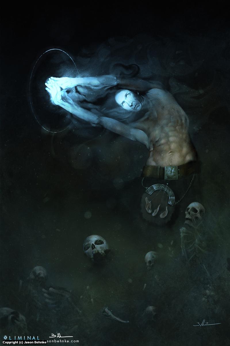 Necromancer Artwork by Jason Behnke