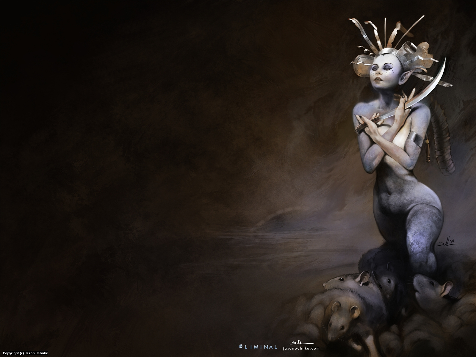 The Rat Queen Artwork by Jason Behnke